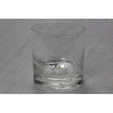 Whiskey Glass with Ice Bottom (Pair)